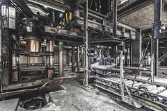 KV9A8127-HDR-1_DxO (wernkro) Tags: deutschland hydraulikarm industrie hallen maschinen lostplace krokor urbexen hydraulikpressen