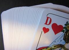Herzdame (hussi48) Tags: karten spiel herzdame re saturday smileonsaturday picofpaper macro nahaufnahme