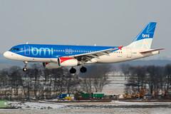 G-MIDP (PlanePixNase) Tags: aircraft airport planespotting haj eddv hannover langenhagen bmi midland british airbus 320 a320