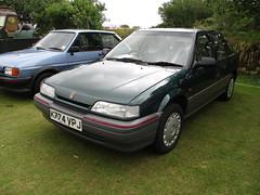 1992 Rover 216 GSi (occama) Tags: k774vpj 1992 rover 216 gsi green old british car cornwall uk
