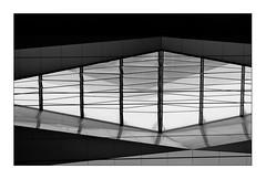 Wien Hauptbahnhof (Armin Fuchs) Tags: arminfuchs wien vienna hauptbahnhof mainstation österreich austria windows diagonal graphic light stripes reflections snow