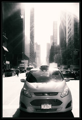 Just an ordinary day... (nyanc) Tags: newyork nikon ny nyc newyorkcity america usa streetview bw blackandwhite blackwhite monochrome