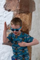 Liam at Tintern Abbey (cottert) Tags: tinternabbey liam