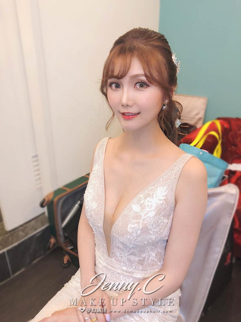 【新秘蓁妮】bride詠軒 結婚造型 / 蘆洲終身大事