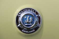 Vauxhall Car Badge (big_jeff_leo) Tags: carshow vehicle transport automotive auto classic classiccar vintage veteran