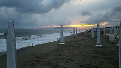 Sleeping the SEA? (Ladyhelen_) Tags: toscana sea heaven sky holidays vacation beach italy bluesky relax seascape relaxing clouds blue yellowsky yellow poetry poems words verses ocean spiaggia oceanlover landscape countryside coast