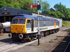 47306 Bodmin General (6) (Marky7890) Tags: 47306 class47 bodmingeneral bodminwenfordrailway cornwall heritage diesellocomotive