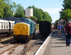 37142 Bodmin General (3) (Marky7890) Tags: 37142 class37 bodmingeneral bodminwenfordrailway cornwall heritage diesellocomotive