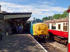 37142 Bodmin General (2) (Marky7890) Tags: 37142 class37 bodmingeneral bodminwenfordrailway cornwall heritage diesellocomotive