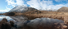 Unnamed Lake, July 2019 (Lysaelle) Tags: newzealand mountains canterbury reflection snow noediting rawphoto canthisdaygetanybetter