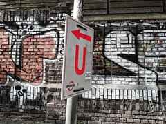 Bochumer U (Peter Schüler) Tags: u bochum ruhrgebiet graffiti bogestra flickr peterpe1 langendreer