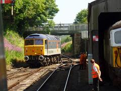 47306 Bodmin General (5) (Marky7890) Tags: 47306 class47 bodmingeneral bodminwenfordrailway cornwall heritage diesellocomotive