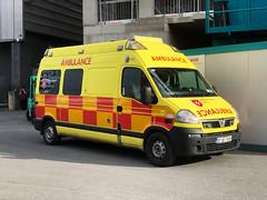 Vauxhall Movano/UV Modular of the Order of Malta (barronr) Tags: 911 ambulance help 112 ems vauxhall firstaid 999 concertt emergencymedicalservice orderofmalta eventfirstaid ireland dublin eire