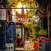 Colors galore in the little alleyway in Tianzifang, Shanghai