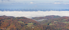 View From Bickle Knob (KRHphotos) Tags: clouds fallcolors westvirginia windmill landscape forest monongahelanationalforest nature elkins unitedstatesofamerica