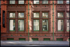 6th of April 2019 (Paul of Congleton) Tags: april 2019 manchester england uk city street building brick architecture windows reflections digital sony rx100