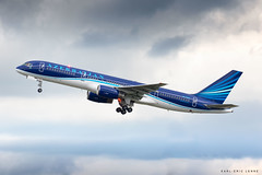 4K-AZ12 - Azerbaijan 757-200 | CDG (Karl-Eric Lenne) Tags: 4kaz12 azerbaijan airlines paris cdg takeoff june 2019