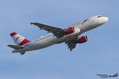 Airbus A320 -214 AUSTRIAN AIRLINES OE-LBW 1678 Francfort juin 2019 (Thibaud.S.) Tags: airbus a320 214 austrian airlines oelbw 1678 francfort juin 2019