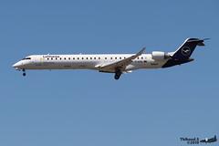 Bombardier CRJ -900LR LUFTHANSA D-ACNL 15252 Francfort juin 2019 (Thibaud.S.) Tags: bombardier crj 900lr lufthansa dacnl 15252 francfort juin 2019