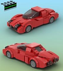 Redbird (Playwell Bricks) Tags: lego legotechniques legoideas legophotography legopictures legoart creativity art design cars sportscar toys toyphotography