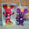Top Gigio Bootlegs (The Moog Image Dump) Tags: stafex cute kawaii top gigio plastic flocked red purple mouse vintage retro topo bootleg ko birthday love