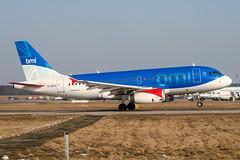 G-DBCE (PlanePixNase) Tags: aircraft airport planespotting haj eddv hannover langenhagen airbus 319 a319 bmi british midland