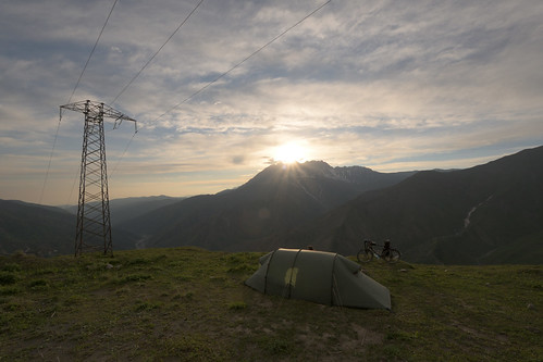 near Kazarman - Kyrgyzstan