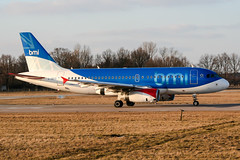 G-DBCD (PlanePixNase) Tags: aircraft airport planespotting haj eddv hannover langenhagen airbus 319 a319 bmi british midland