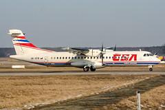 OK-XFB (PlanePixNase) Tags: aircraft airport planespotting haj eddv hannover langenhagen atr72 atr 72 at7 csa czechairlines