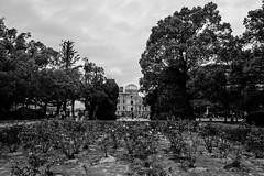 Hiroshima - Genbaku Dome (-dow-) Tags: giappone hiroshima japan 広島 日本 原爆ドーム peacememorialpark genbakudome monochrome fujifilm x70