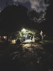 185/365 (moke076) Tags: 2019 365 project 365project project365 oneaday photoaday mobile cell cellphone iphone cabbagetown night nighttime evening street scene people random walking shadows light july 4th fourth holiday
