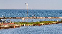 Pier Stroll (Lester Public Library) Tags: tworiverswisconsin tworivers harbor tworiversharbor lakemichigan lake water wisconsin greatlakes lesterpubliclibrarytworiverswisconsin readdiscoverconnectenrich