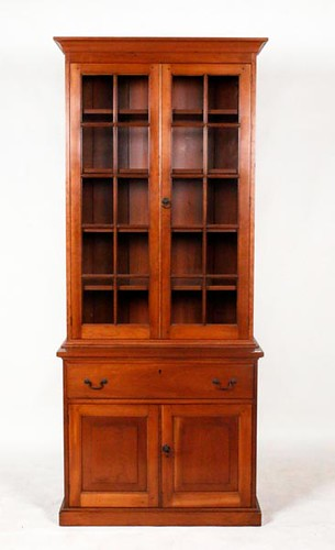 Walnut 12 pane stepback cupboard ($1,008.00)