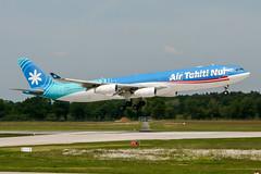 F-OSEA (PlanePixNase) Tags: aircraft airport planespotting haj eddv hannover langenhagen airbus 340 a343 340300 a340300 airtahitinui tahiti nui wm2006