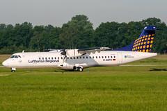 D-ANFH (PlanePixNase) Tags: aircraft airport planespotting haj eddv hannover langenhagen lufthansa regional atr72 atr 72 contactair