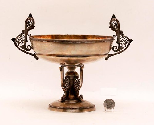 (1827-1868) Tiffany & Co. 925-1000 sterling compote ($1.176.00)