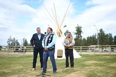 Premier Moe at the Meeting with Indigenous leaders / Le premier ministre Moe à la rencontre avec les dirigeants autochtones