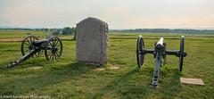 Union positions on Cemetery Ridge looking toward Seminary Ridge (Alaskan Dude) Tags: travel pennsylvania gettysburg gettysburgnationalmilitarypark landscape history battlefields seminaryridge cemeteryridge civilwar