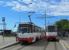 Estonia - Tallinn trams (onewayticket) Tags: tram transport urban tlt tatra ktnf6 tatraktnf6 tallinn estonia