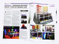 Teenage Mutant Ninja Turtle Sewer Lair Featured in Blocks Magazine!👍😎 (ben_pitchford) Tags: