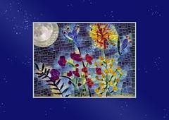 i left a light on ~universe (Carol (vanhookc)) Tags: postcardart 6x4 flowers garden painting brushes watercoloring arteza deepdreamgenerator painterly digitalprocessing digitalediting freehand sketching watercolors