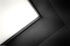 roof window (fhenkemeyer) Tags: window hww bw minimalistic minimalism abstract roofwindow