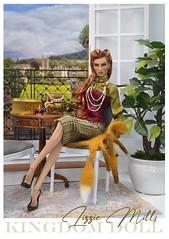 Lizzie Mills (kingdomdoll) Tags: lizziemills kingdomdoll kingdom doll resinfashiondoll fashiondoll beauty bjd redhead