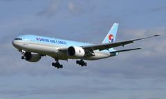Korean HL8251, OSL ENGM Gardermoen (Inger Bjørndal Foss) Tags: hl8251 korean boeing 777 cargo osl engm gardermoen