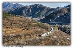 "NDJ3  ""Harmony Great Wall"" (MK|PHOTOGRAPHY) Tags: ndj3 triebwagen railcar harmonygreatwall grosemauer greatwall peking beijing china pentax k3 smcpentaxda18270 matthias körner mattkoerner1 mk|photography"