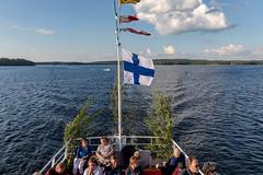 Midsummer Day in Finland (Ninara) Tags: lahti päijänne finland juhannus midsummer june summer cruise lake water evening night summernight ship boat vääksy canal channel vesijärvi