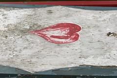 FadedHeart (Tony Tooth) Tags: nikon d600 nikkor 105mm faded weathered heart motif heartmotif stocktonbrook staffs staffordshire