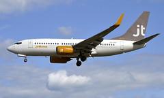 JetTime OY-JTS, OSL ENGM Gardermoen (Inger Bjørndal Foss) Tags: oyjts jettime boeing 737 osl engm gardermoen