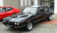 Capri Injection (Schwanzus_Longus) Tags: stuhr brinkum german germany old classic vintage car vehicle coupe coupé ford capri injection