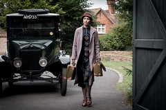 Tuppence Middleton as Lucy in DOWNTON ABBEY (djabonillojr.2008) Tags: downton abbey movie film stills 2019 michael engler julian fellowes 1920s 1927 1920 era period motion picture version actress british english focus features theatrical tuppence middleton costume lucy character